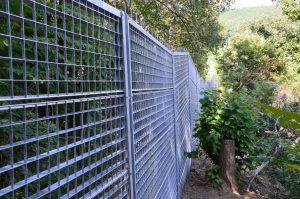 Vnější oplocení zoologické zahrady